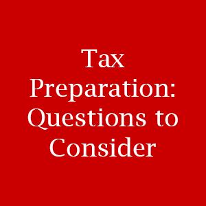 Tax Preparation Evansville