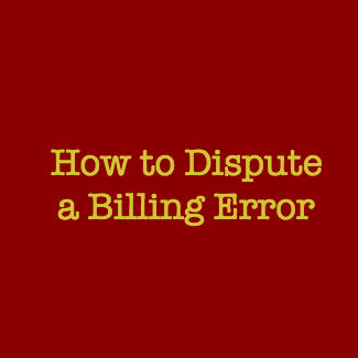 dispute billing error cpa